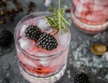 Blackberry Botanical Gin and Tonic