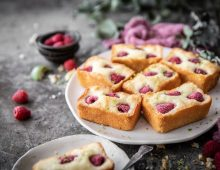 Raspberry Lime Friands