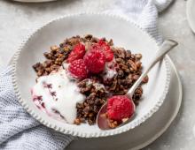 Coconut Rough Raspberry Granola